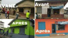 CÔTE D'IVOIRE - Des habitants d'une commune d'Abidjan transforment complètement leur quartier pour lutter contre l'insalubrité