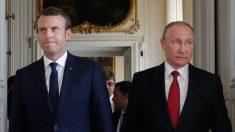 Réélection de Poutine : les voeux d'Emmanuel Macron en forme d'avertissement