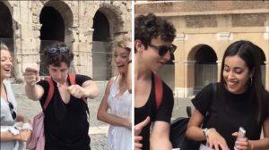 Un farceur sur YouTube essaie d'impressionner les filles dans les rues d'Italie – mais vous ne verrez pas ça tous les jours!