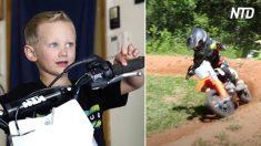 À 4 ans, il est une superstar de motocross qui monte 30 heures par semaine, il a «un amour incroyable pour le sport»