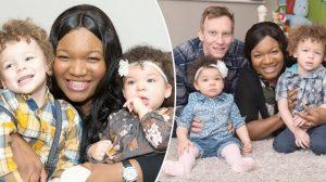 Une femme d'origine africaine donne naissance à 2 bébés à la peau blanche – 1 chance sur 1 million!