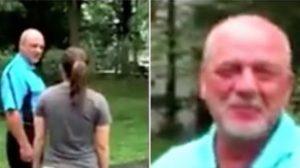 Une fille demande à son beau-père de la suivre dehors pour le surprendre avec la voiture de sa vie