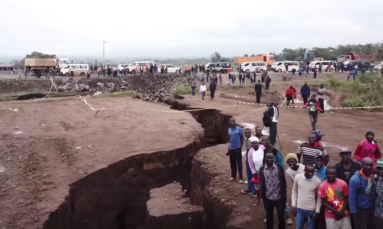kenya une faille g ante divise les g ologues l afrique