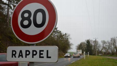 Un rapport de sénateurs très critique sur la limitation à 80 km/h