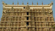 Ce temple est littéralement recouvert d'or. Qu'est-ce qu'il y a derrière la damnée porte de la chambre forte ?