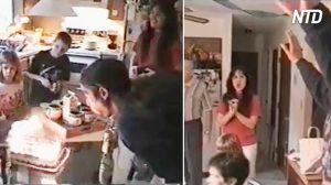 Une famille célèbre l'anniversaire de l'homme – mais après avoir soufflé les bougies, quelqu'un crie «Oh mon Dieu»