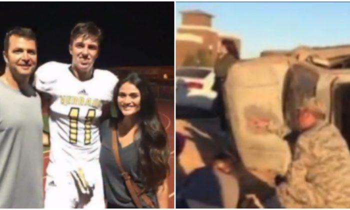 Un footballeur de lycée survit à un terrible accident – mais ce que disent les médecins, c'est un cauchemar pour les parents