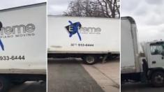Une femme était curieuse après avoir vu un camion de déménagement à proximité, mais lors de son enquête, il se passait quelque chose d'étrange…