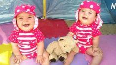 Cette famille a eu des jumelles trisomiques – voici un aperçu de leur vie au quotidien