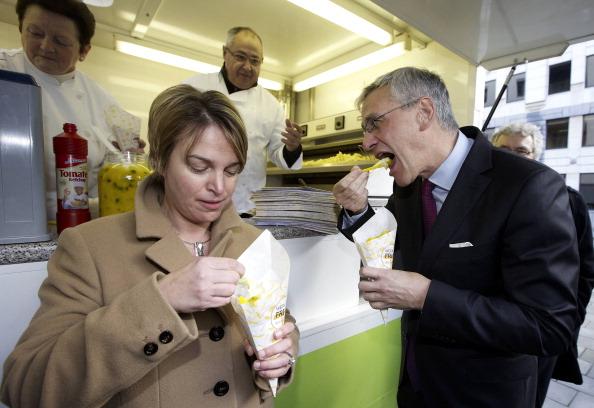 Bruxelles réinvente la baraque à frites