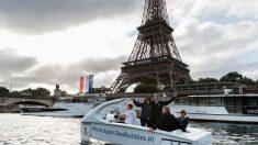 Paris: nouveaux tests sur la Seine pour les Sea Bubbles («taxis volants» sur l'eau)