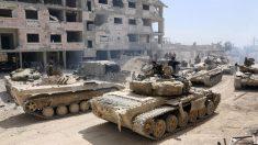 Le régime syrien a pris le contrôle total de Damas après avoir chassé l'EI