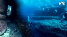 Découverte d'une mystérieuse structure sous-marine au large des côtes japonaises, elle aurait 14 000 ans!