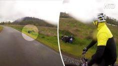 2 hommes repèrent un engin inhabituel dans le fossé - mais quand ils réalisent ce que c'est, ils sont bouleversés