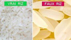 Consommer ces faux aliments chinois pourrait vous tuer. Ce riz en plastique envahit-il votre supermarché?