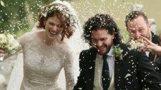 Mariage royal: Kit Harington et Rose Leslie (Game of Thrones) se sont dit oui