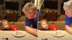 Voici des papas qui ordonnent à leurs filles de ne jamais avoir de petit ami - regardez la réaction hilarante des fillettes