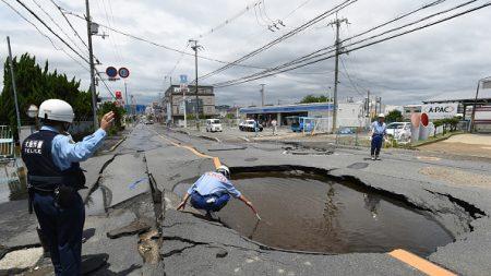 Japon: un puissant séisme de magnitude 6,1 a fait au moins deux morts, dont une fillette