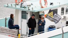 Action de pêcheurs contre la pêche électrique