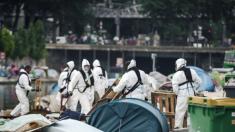 Paris: évacuation des deux grands campements de migrants