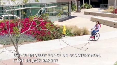 Découvrez le Jack Rabbit, ce vélo électrique pas comme les autres!