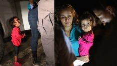 Fake news: La petite fille migrante qui pleure n'a jamais été séparée de ses parents