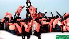 Polémique: Pour sa nouvelle publicité, Benetton met en scène des migrants en plein sauvetage
