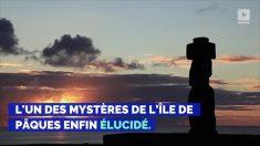 L'un des mystères de l'île de Pâques enfin élucidé