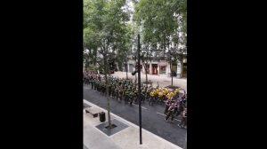 Nîmes: 600 légionnaires font leur footing en plein centre-ville et ça inspire le respect!