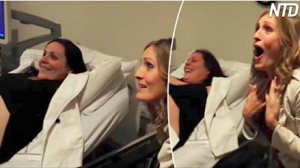 Une jeune femme a la réaction la plus incroyable quand elle découvre que sa sœur va avoir des jumeaux