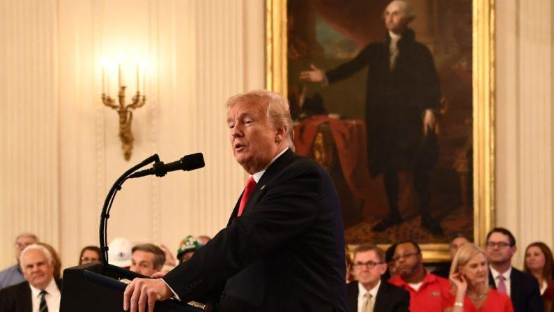 Trump menace de taxes punitives les 505 milliards de dollars de produits chinois importés