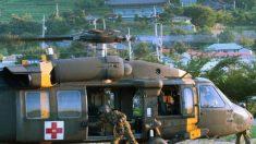 Crash d'un hélicoptère de l'armée sud-coréenne: 5 morts