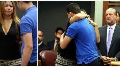 Au tribunal, une mère se précipite vers le meurtrier de sa fille et le serre dans ses bras – la raison est bouleversante