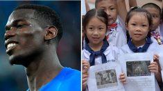 Paul Pogba dédicace la victoire des Bleus aux