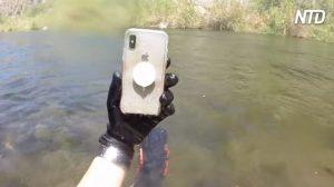 Un chasseur de trésor sous-marin retourne l'iPhone X à son propriétaire et obtient une réponse exceptionnelle