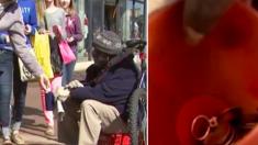 Un sans-abri trouve une bague en diamant dans sa tasse. Puis, son déménagement inattendu change sa vie pour toujours
