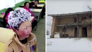 Qui est le garçon aux cheveux gelés qui a ému le monde en janvier? Découvrez sa triste histoire familiale