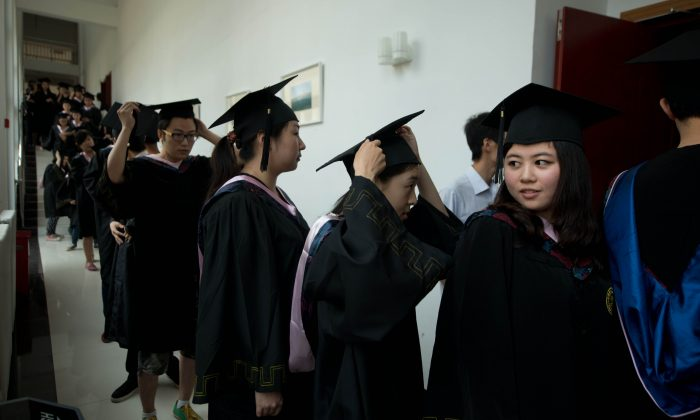 Un site chinois vend de faux diplômes universitaires
