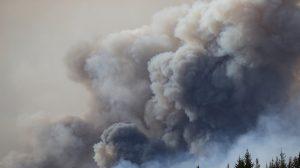 Dans l'ouest de la France, le ciel s'est voilé de fumées provenant des incendies du Canada