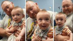 Ce bébé a la réaction la plus adorable lorsqu'il entend des sons pour la première fois