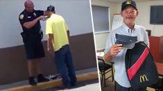 Un sans abri commence un nouvel emploi après avoir obtenu l'aide d'un policier