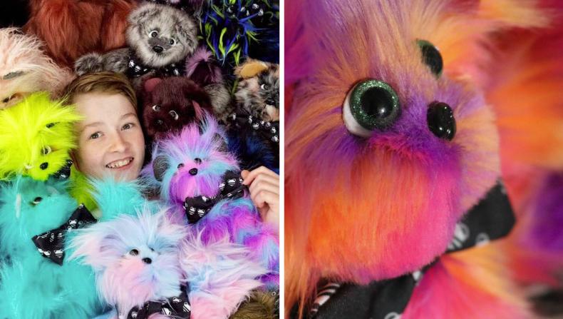 Depuis qu'il a 9 ans, ce garçon coud des peluches pour les enfants malades – il en a déjà fait plus de 1 000!