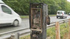 Dans le Pays basque, un second radar a été incendié - une enquête de gendarmerie est ouverte