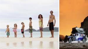 Ils étaient partis pour 6 mois – 18 ans et 4 enfants plus tard, leur voyage continue encore!