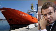 Aquarius: Emmanuel Macron remercie Malte pour «son geste humanitaire» et annonce que la France accueillera 60 migrants