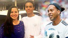 À 13 ans, le fils de la légende du football Ronaldinho a déjà signé avec un club