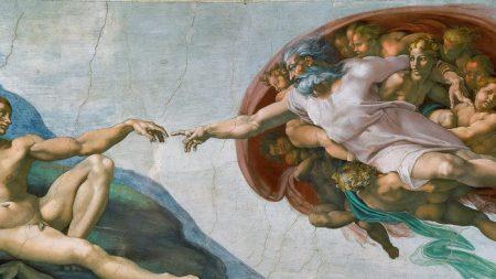 «La création d'Adam» et le royaume à l'intérieur de chacun de nous