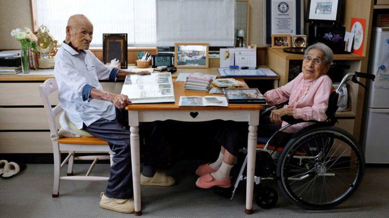 Le plus vieux couple marié du monde est japonais: quel est le secret de leur longévité?