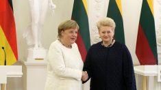 La chancelière allemande Merkel contre la levée des sanctions imposées à la Russie