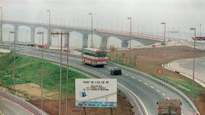 Sur le pont de l'ile de Ré, le câble d'un des viaducs s'est rompu